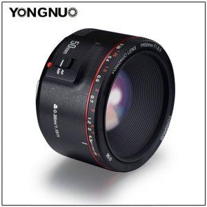 ขอบแดงก็มา Yongnuo YN 50mm f1.8 II