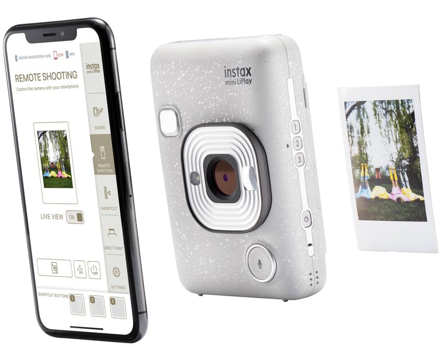 Fujifilm Instax mini Liplay set (Dark Gray)