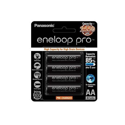 Panasonic Eneloop Pro AA Pack 4 2550mAh BK-3HCCE/4BT