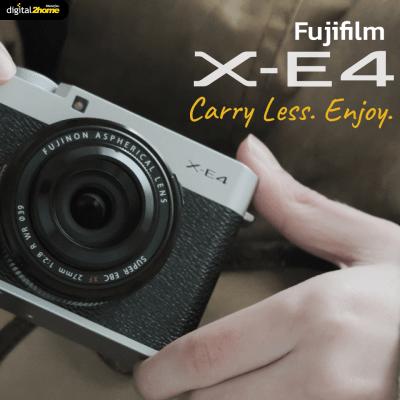 Fujifilm X-E4 น้องใหม่ ตัวเล็ก พกพาง่าย