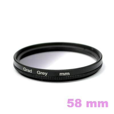 Sing Filter Gradual Neutral Grey 58 mm.